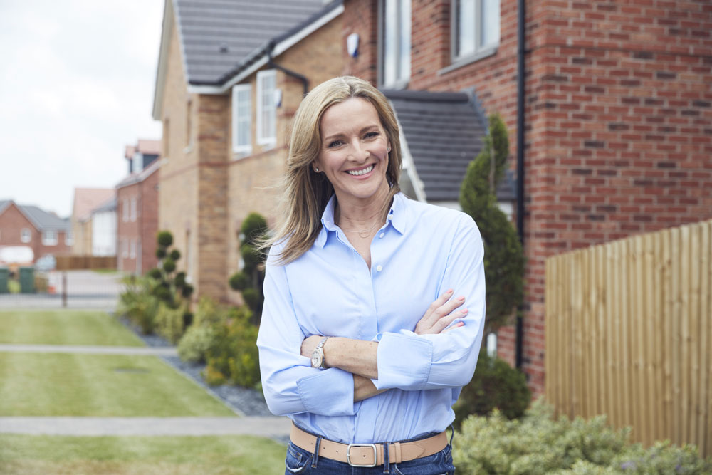 Avant Homes launches community awards with Gabby Logan