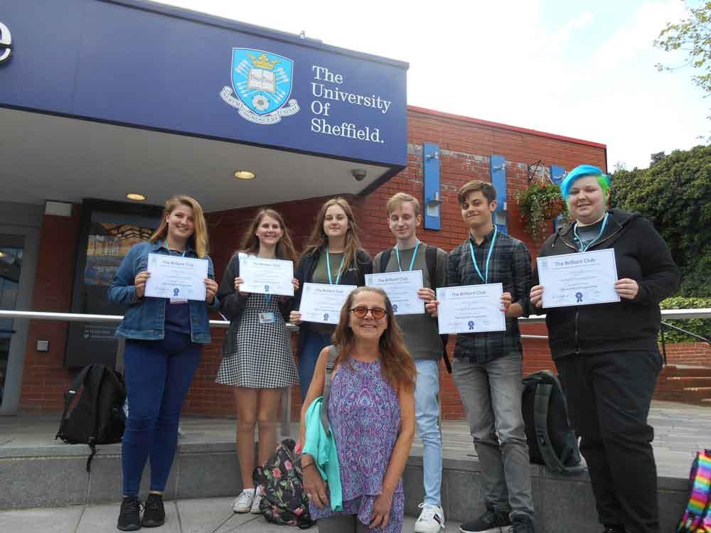 Students shine brilliantly on university project