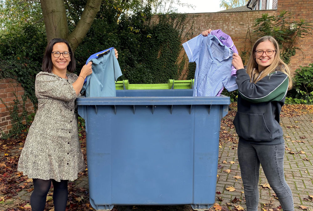 Grahame Gardner launches new uniform recycling service