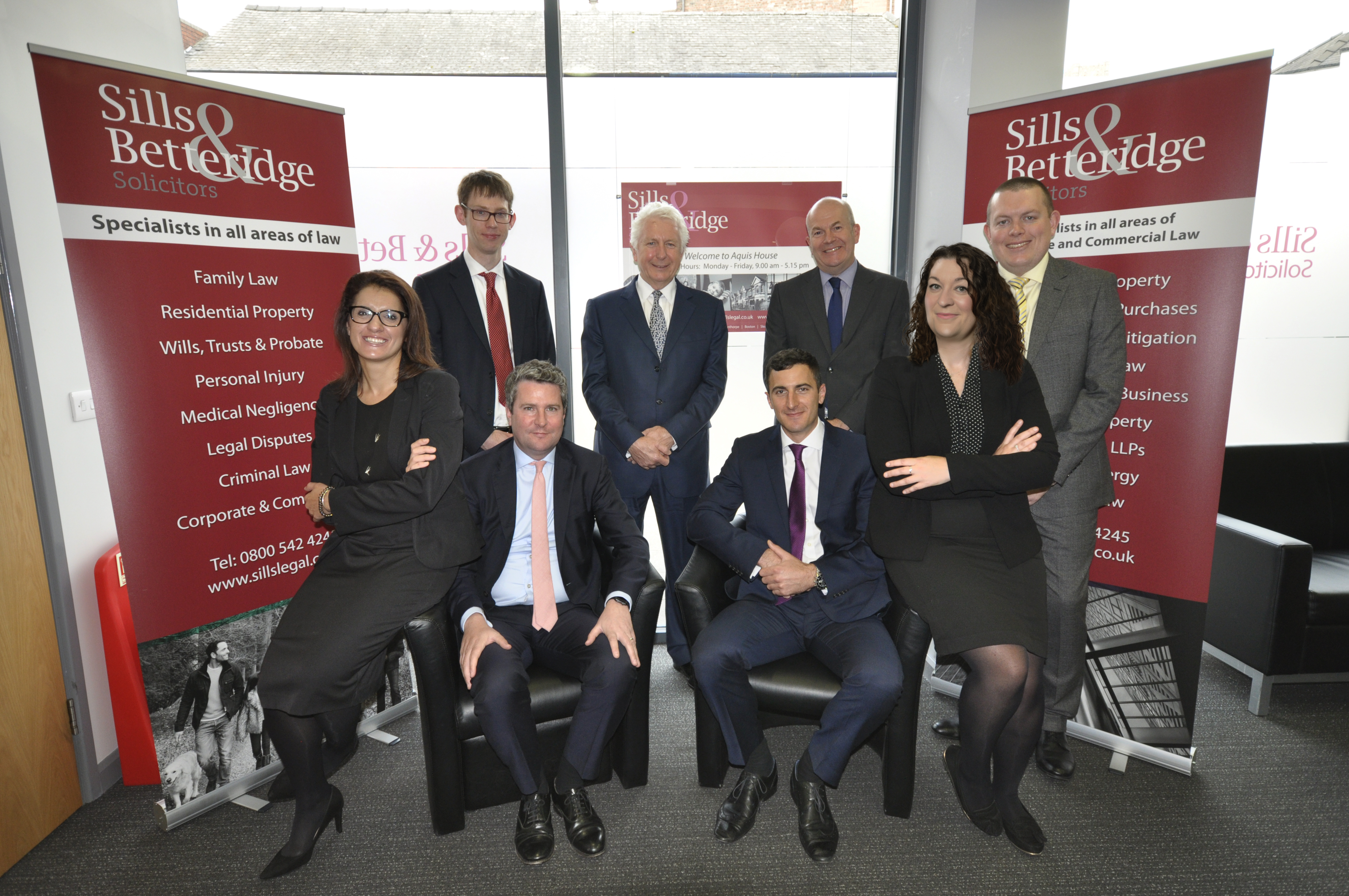 Sills & Betteridge appoint six new equity partners
