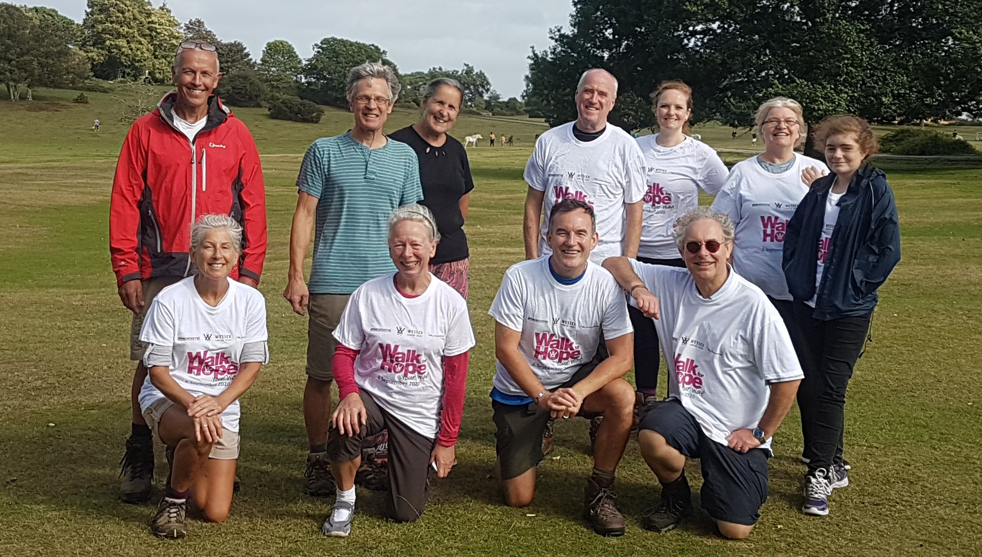 Workers at Derbyshire IT firm dig deep to support colleague taking part in charity trek for Wessex Cancer Trust
