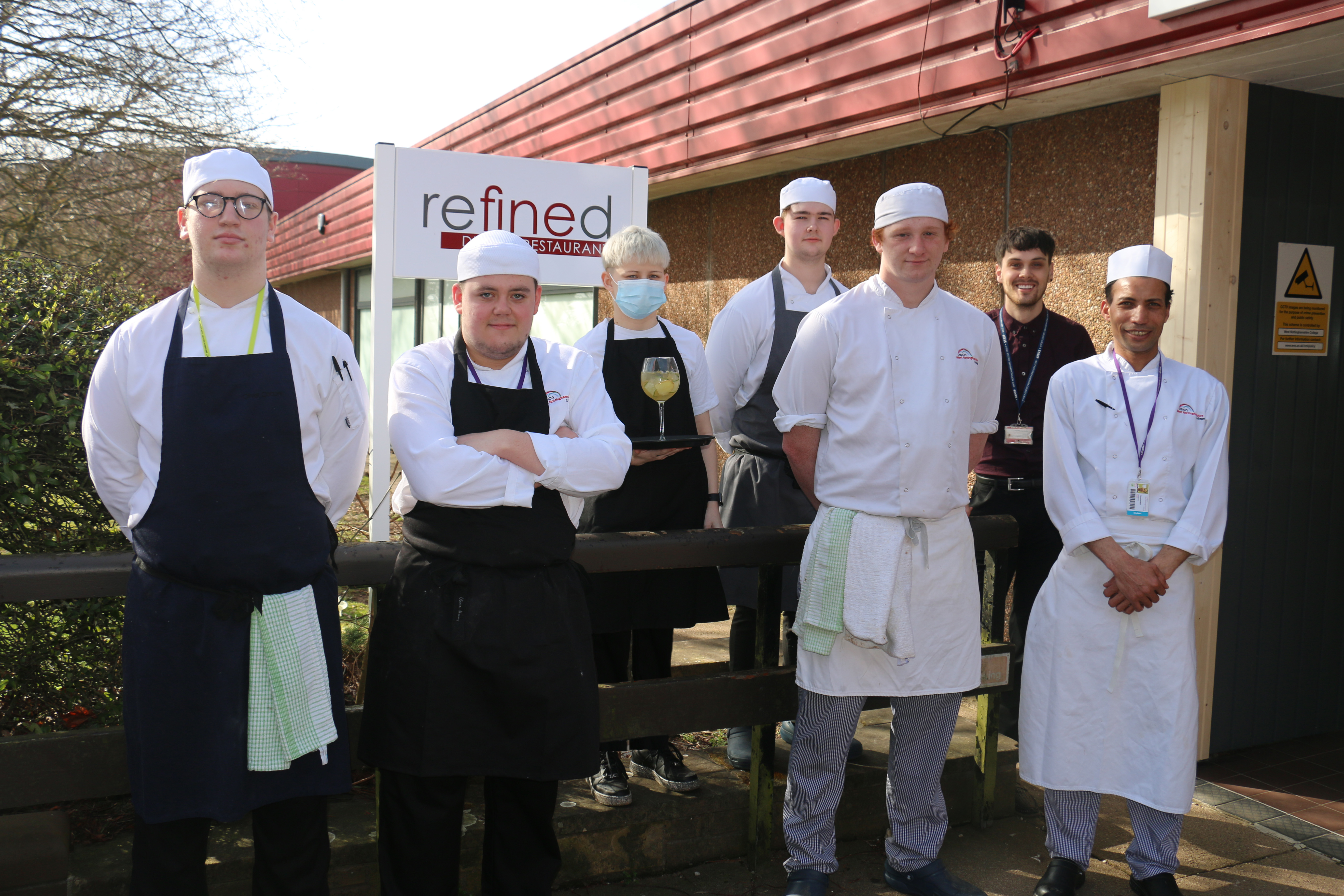 Sweet success for seven in high-profile catering challenge
