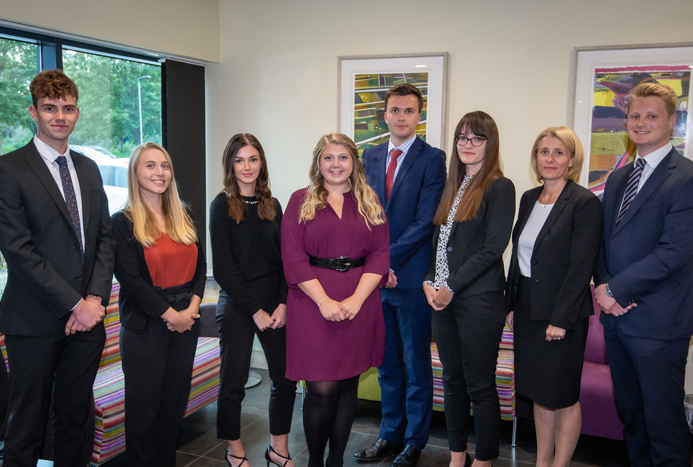 Roythornes welcomes largest cohort of legal trainees