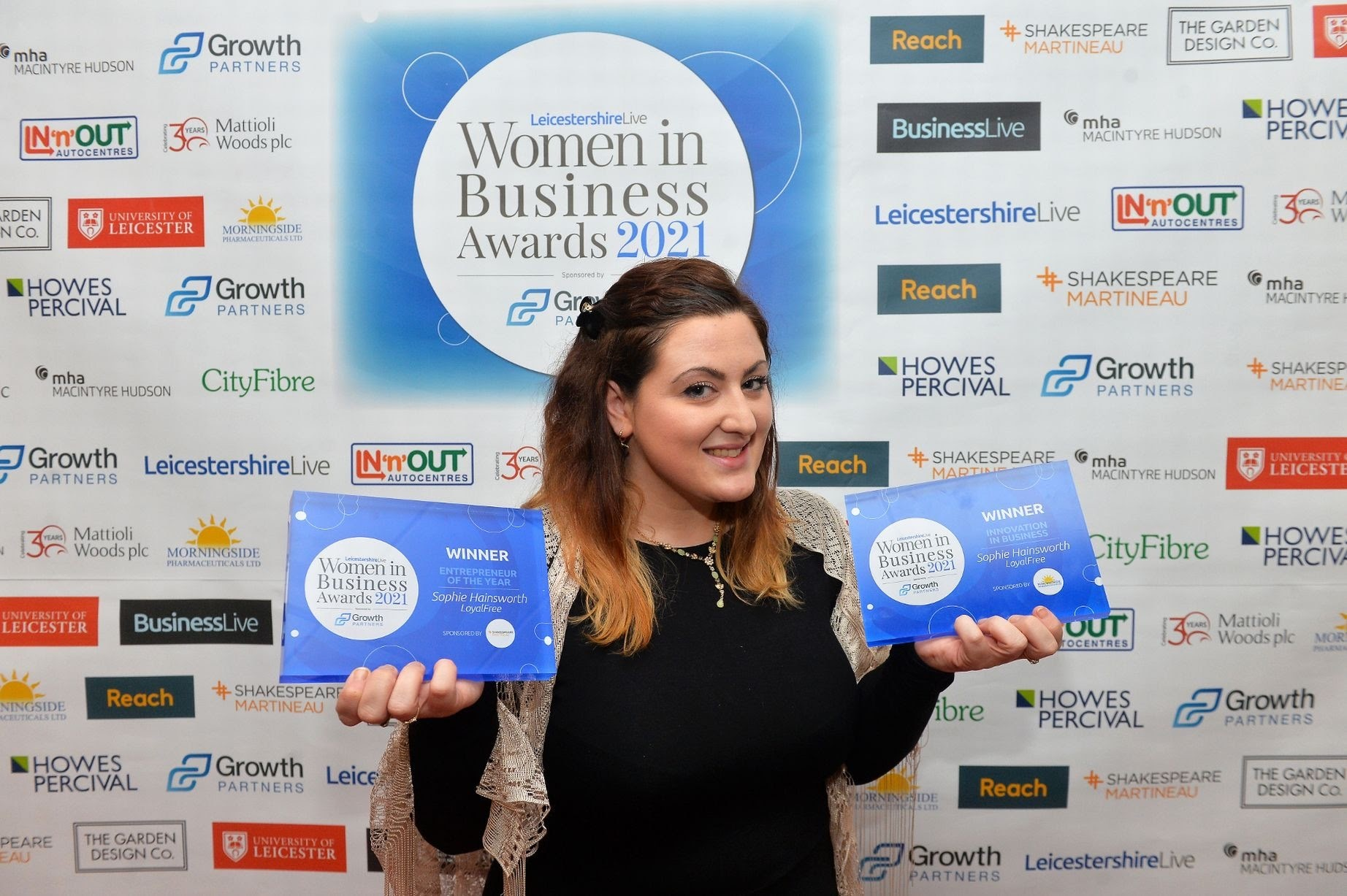 High street hero Sophie Hainsworth bags a double awards win