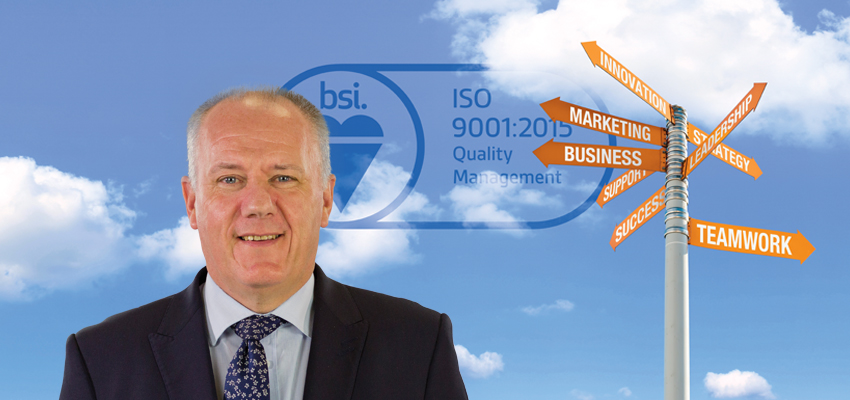 ISO 9001:2015 - by jove we've got it