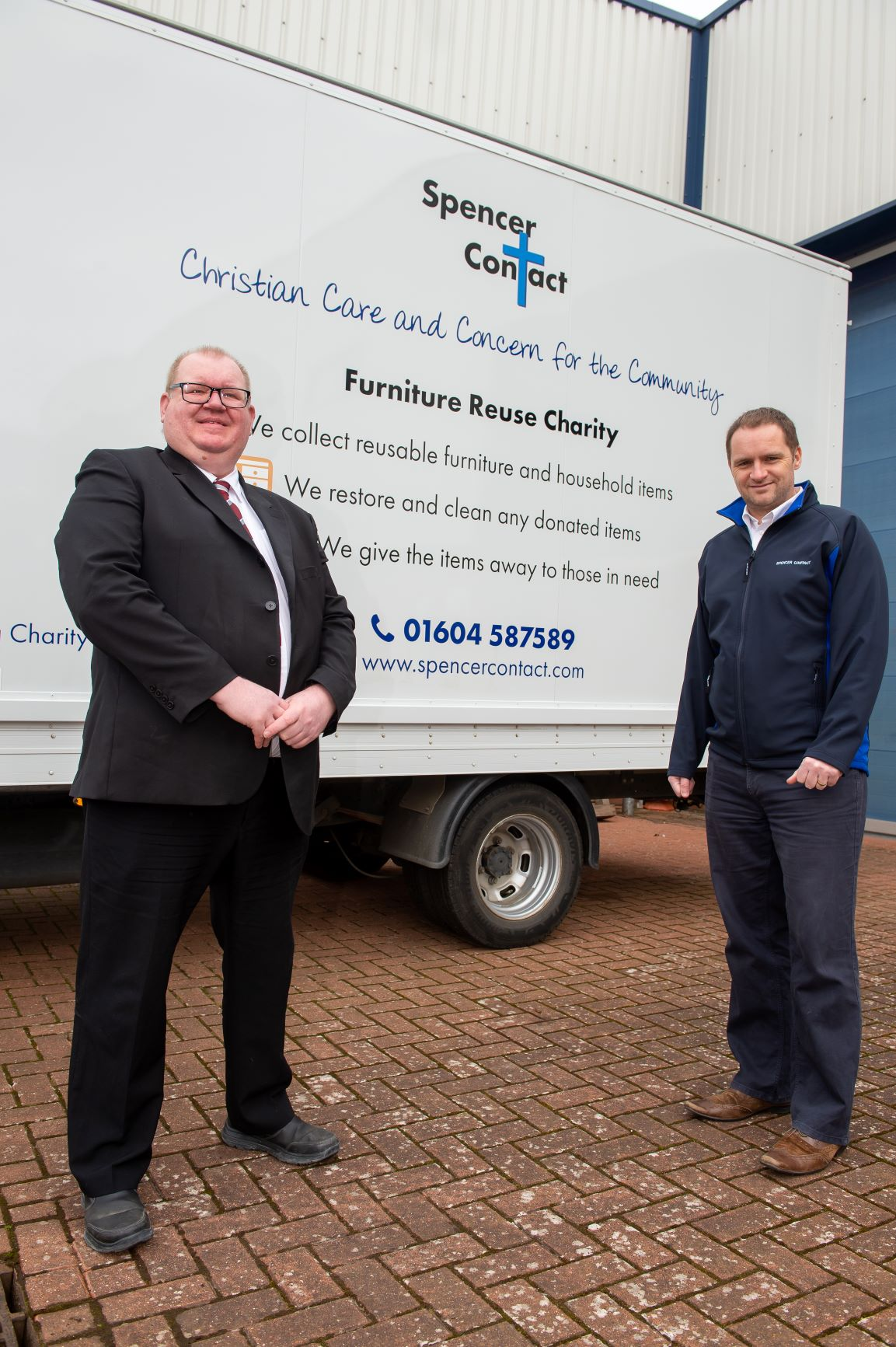 Housebuilder's donation helps keep charity's van on the road