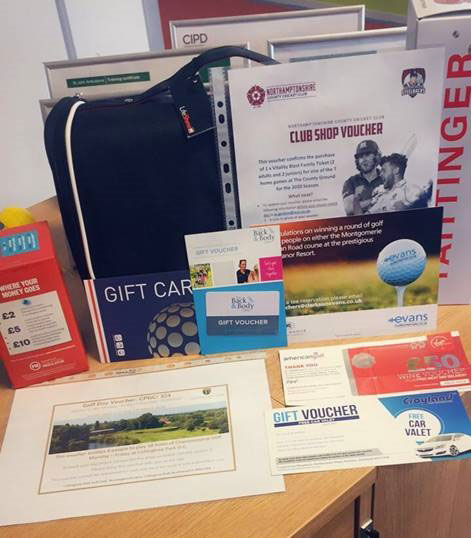 Northampton silent auction makes a big boom for Sports Relief