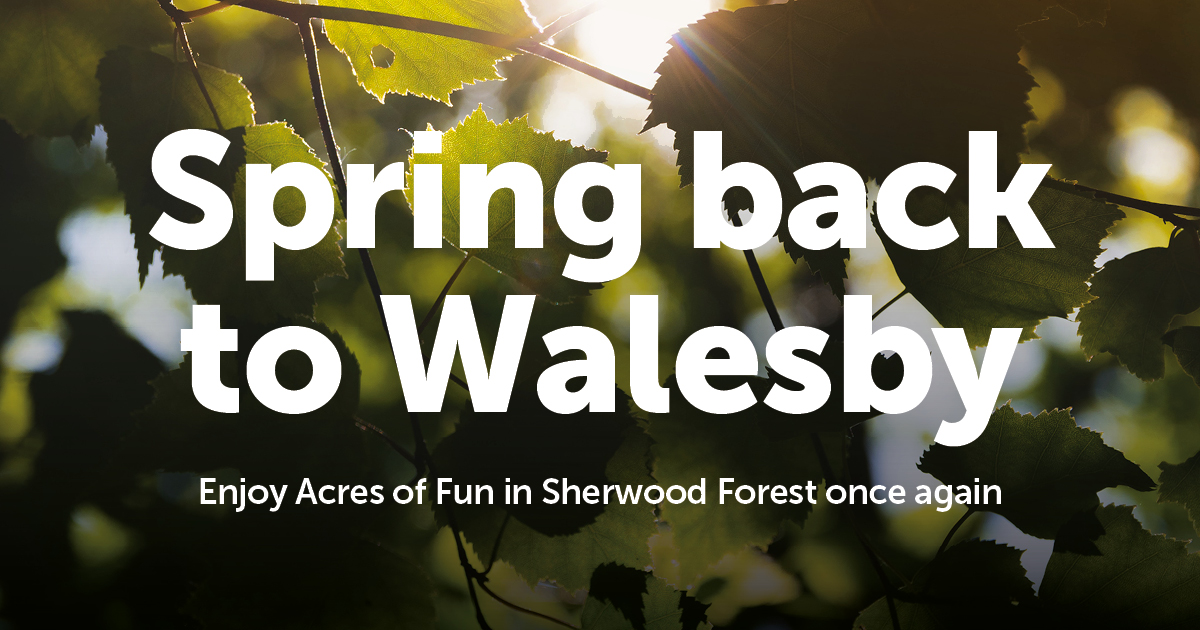 Spring Back to Walesby Forest this April!