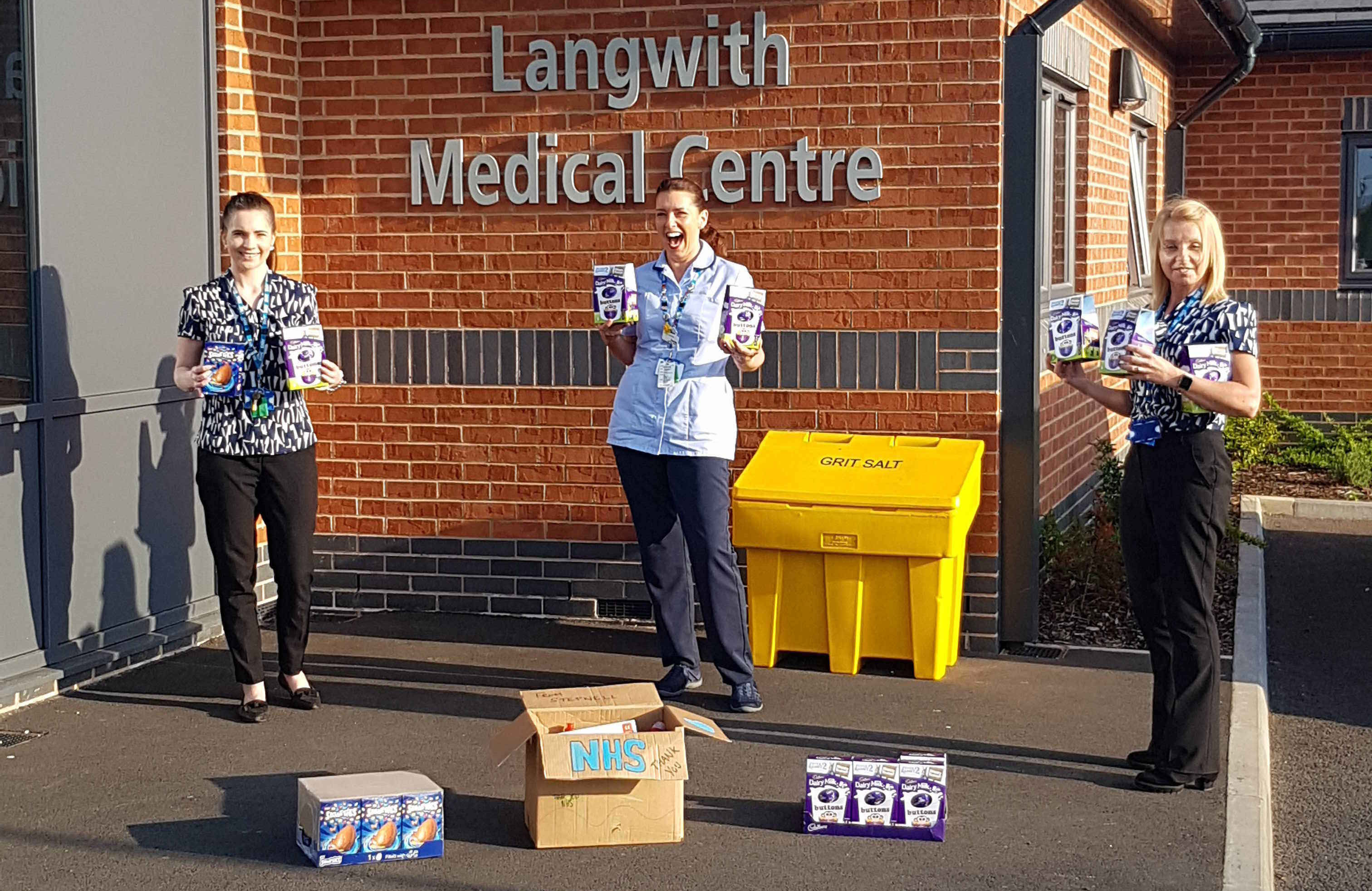 Stepnell Supports Local Medical Centre With Much Needed Supplies
