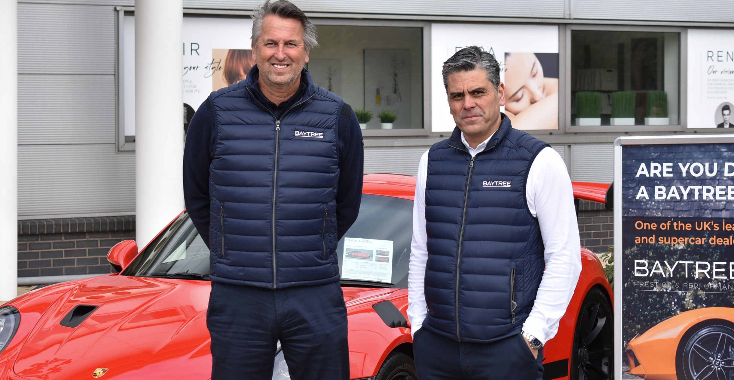 Extended showroom for prestige car specialist Baytree