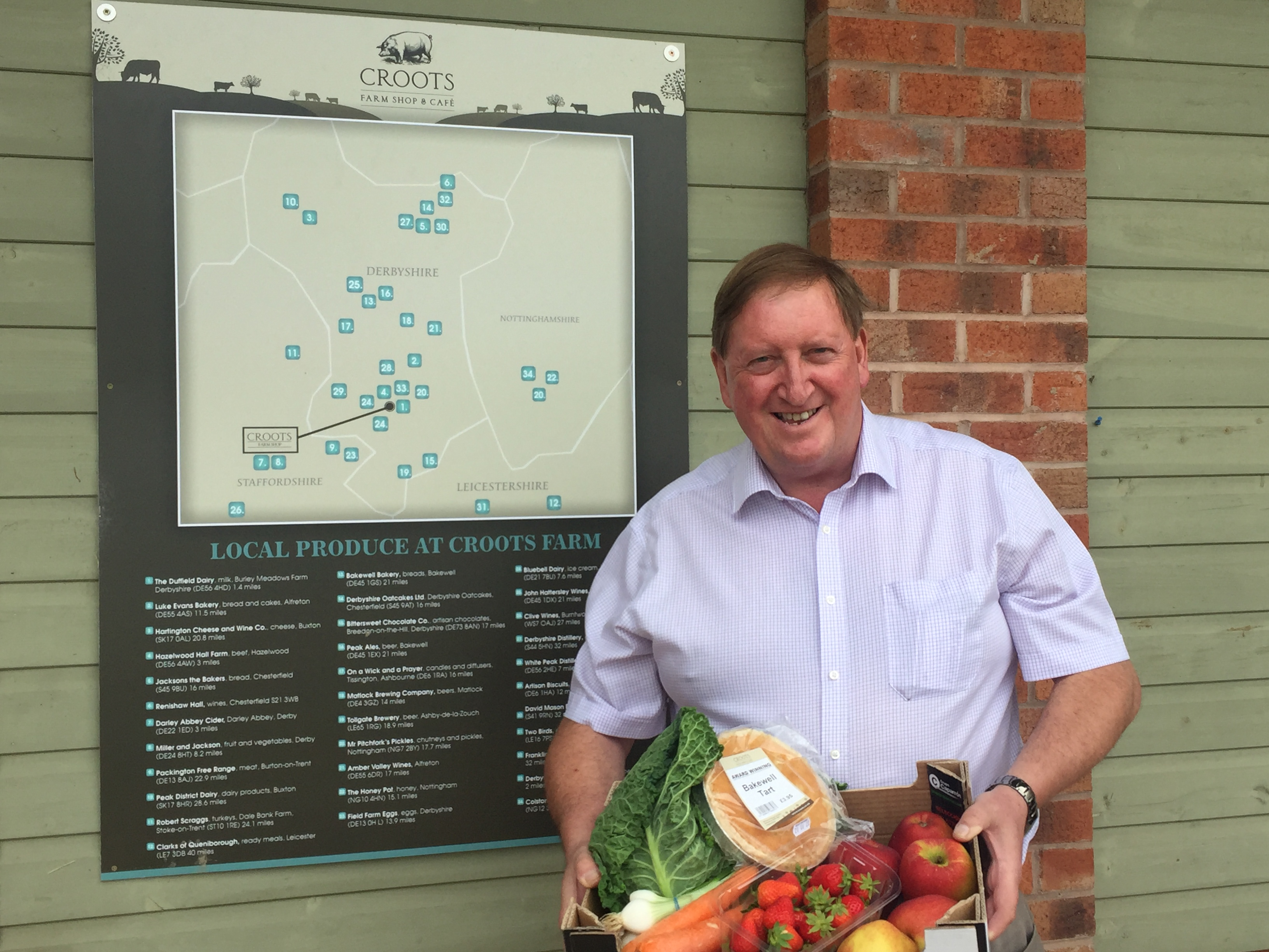 Croots Farm Shop in Derbyshire to re-open its store on 3rd July 2020 with a fresh new look
