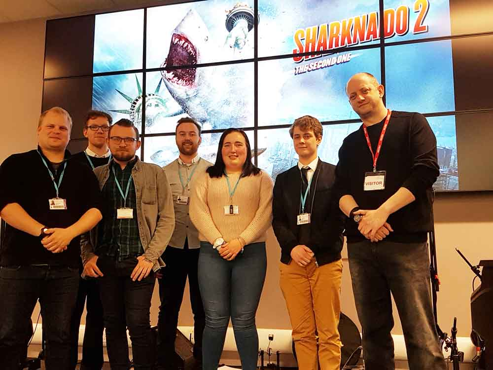 Students meet 'mock buster' visual effects maker