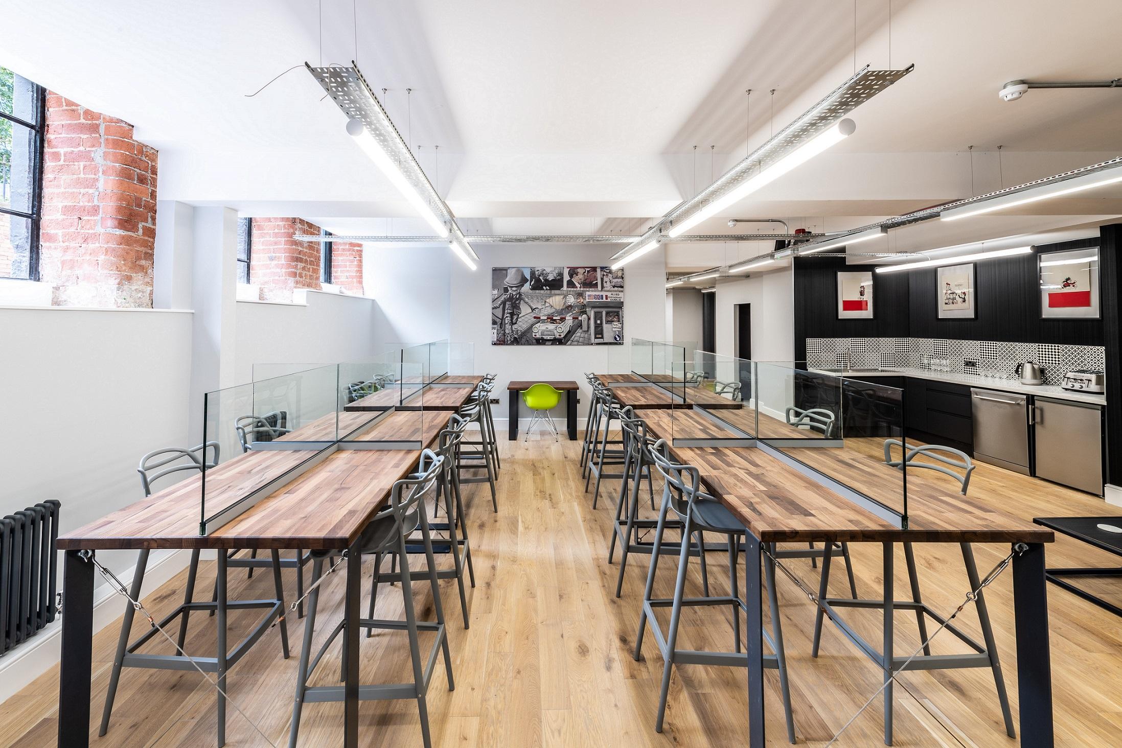 Introducing Nottingham's post-COVID way of working - Creative Quarter welcomes new £5 million hotdesking hub