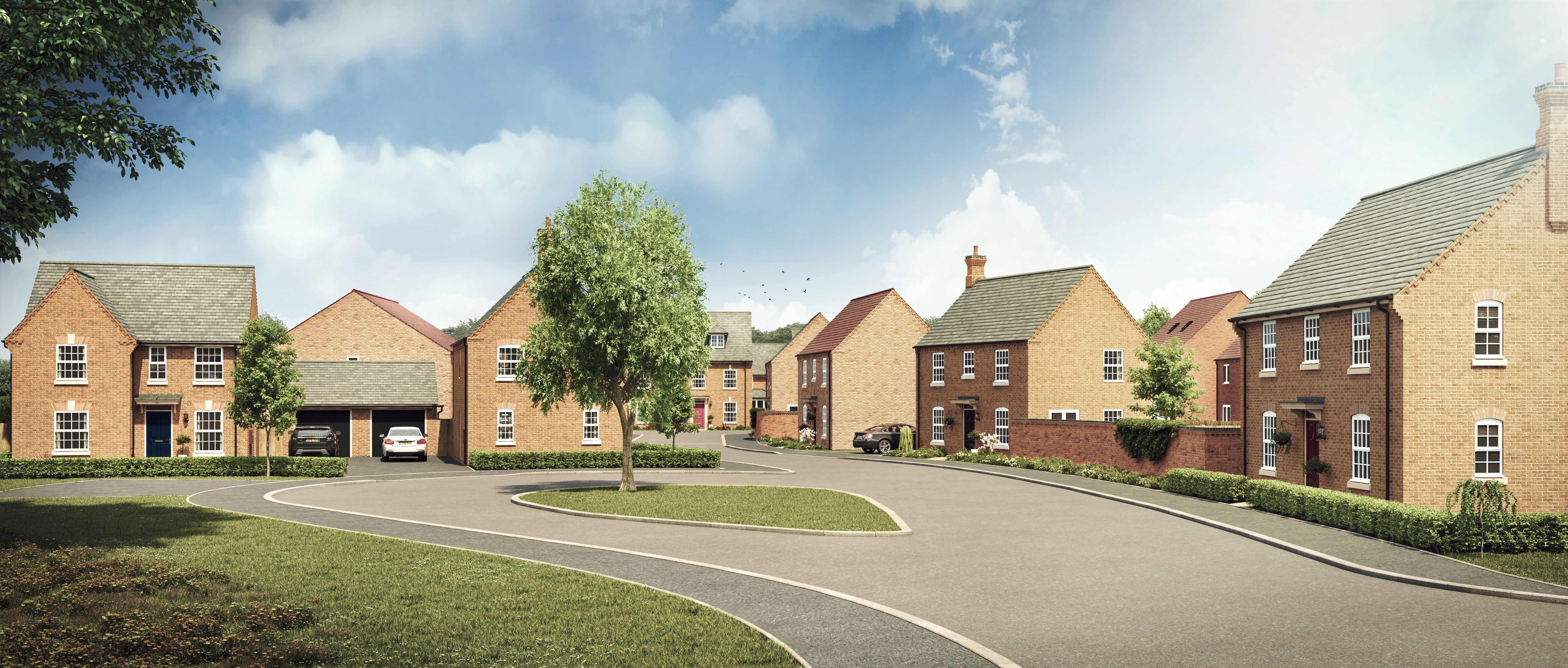 First residents at Irthlingborough development to move in this September
