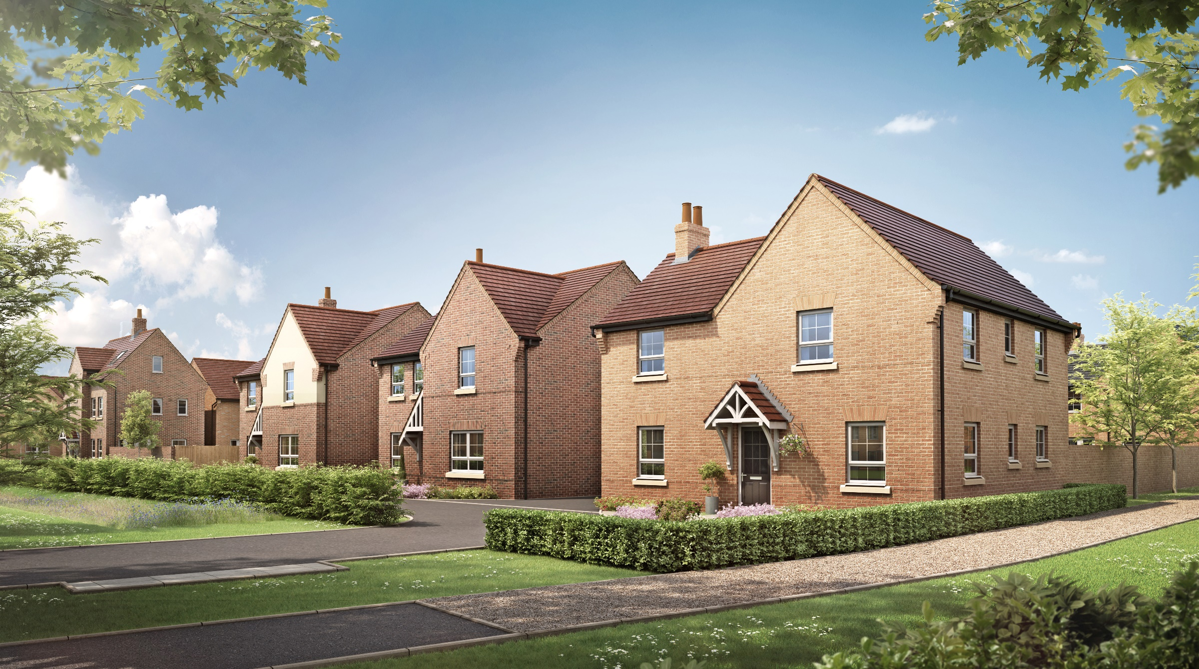 Moving made easy with Barratt Homes at Grange View