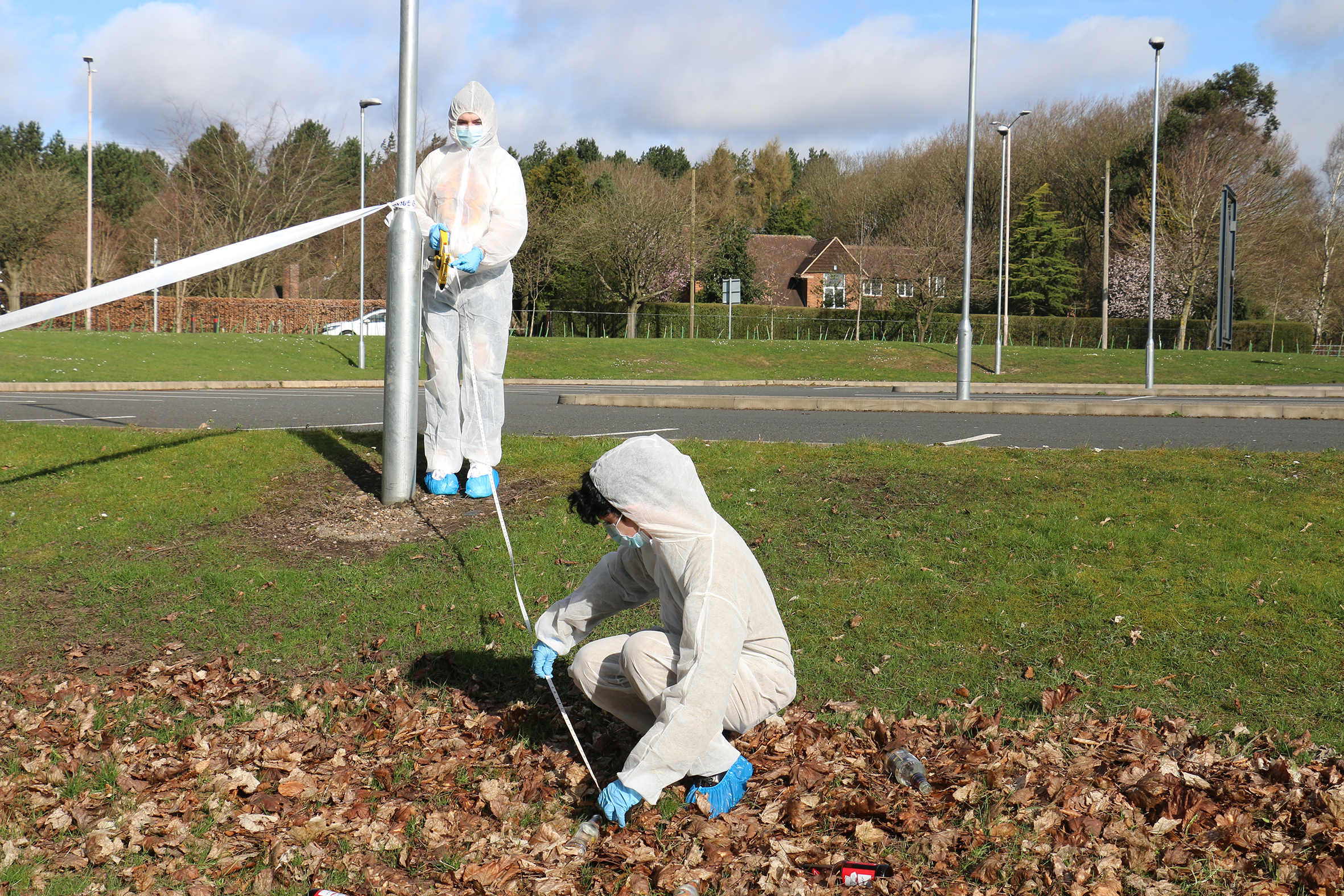 Murder case solved by forensic students
