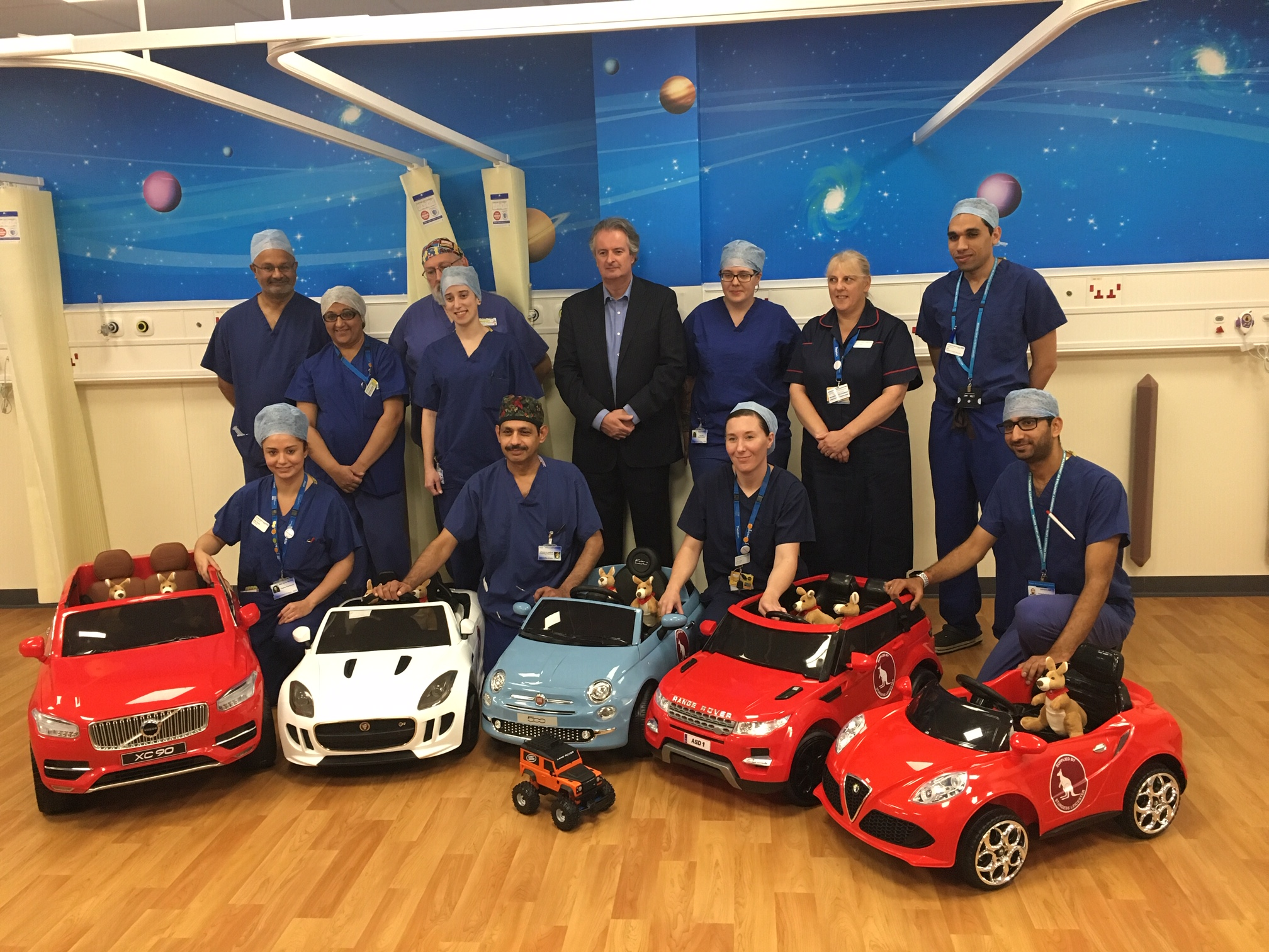 Sturgess go the extra mile to help children get to surgery