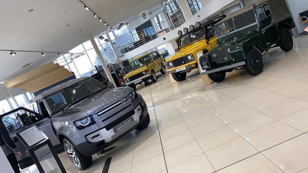 Sturgess Land Rover Previews The New Land Rover Defender