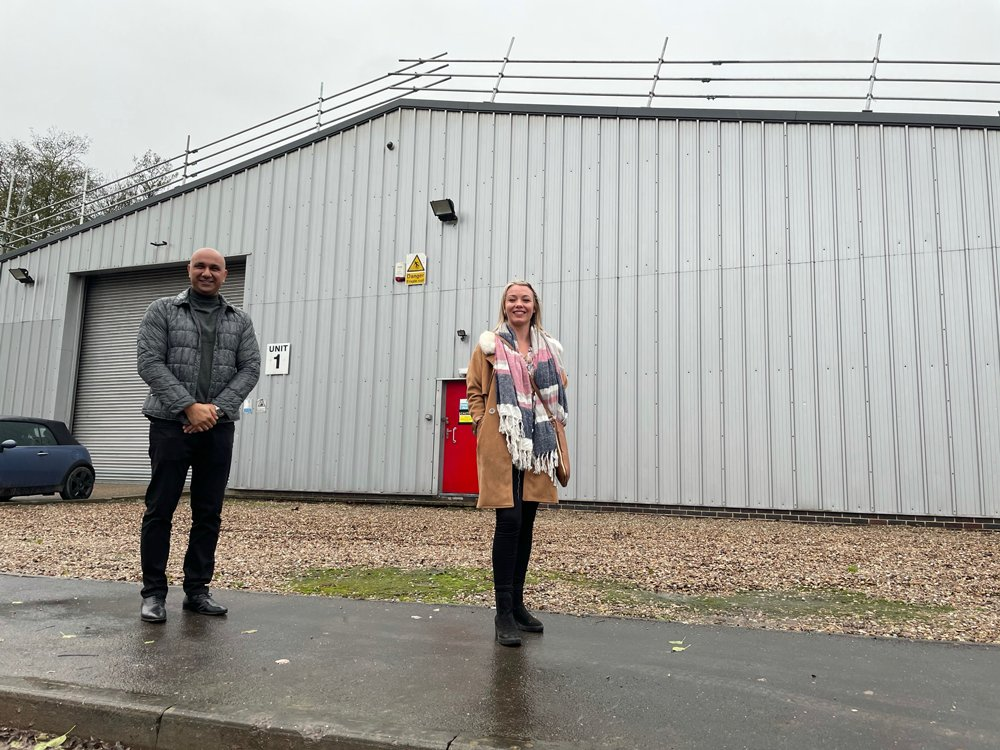 Derbyshire warehousing deal is child's play for NG