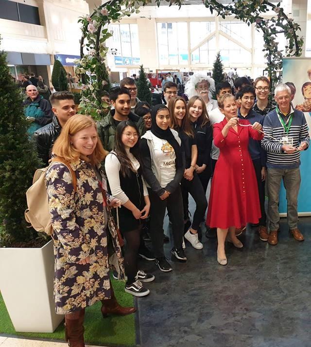 Budding entrepreneurs create 'pop-up' market at intu Broadmarsh