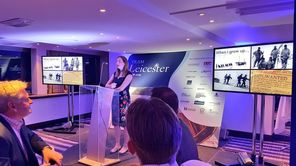Leicester declared the space hub of the UK at MIPIM