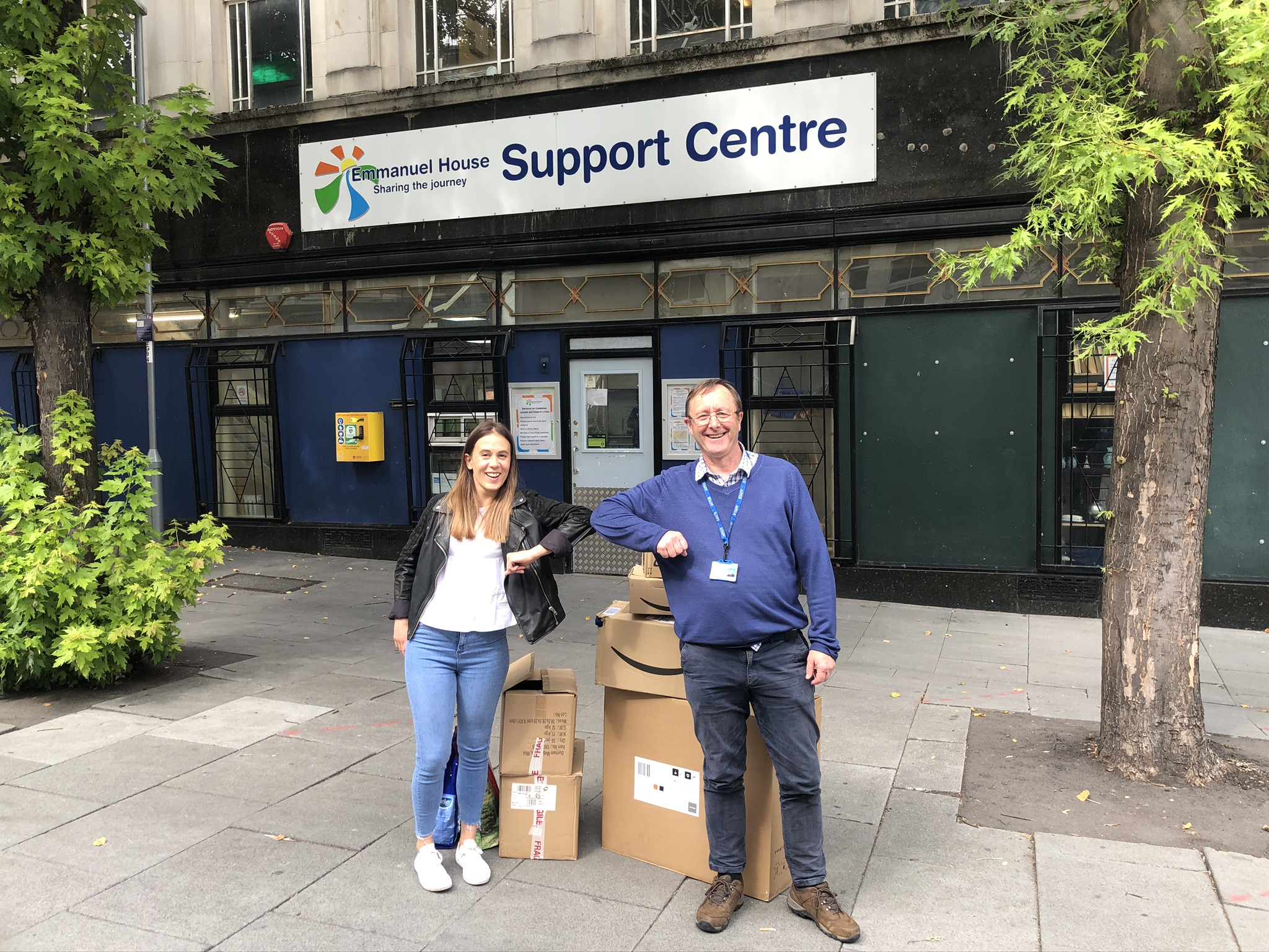 Nottingham tech business donates £1000 of food to local homeless shelter