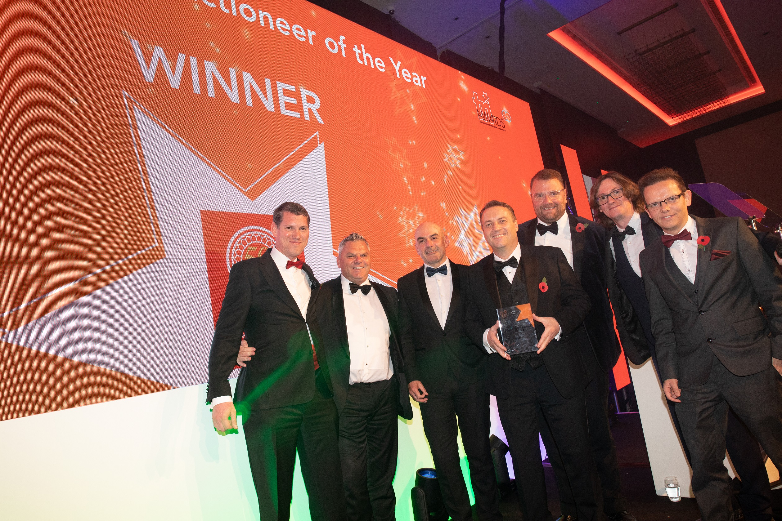 John Pye makes award history with fourth year win