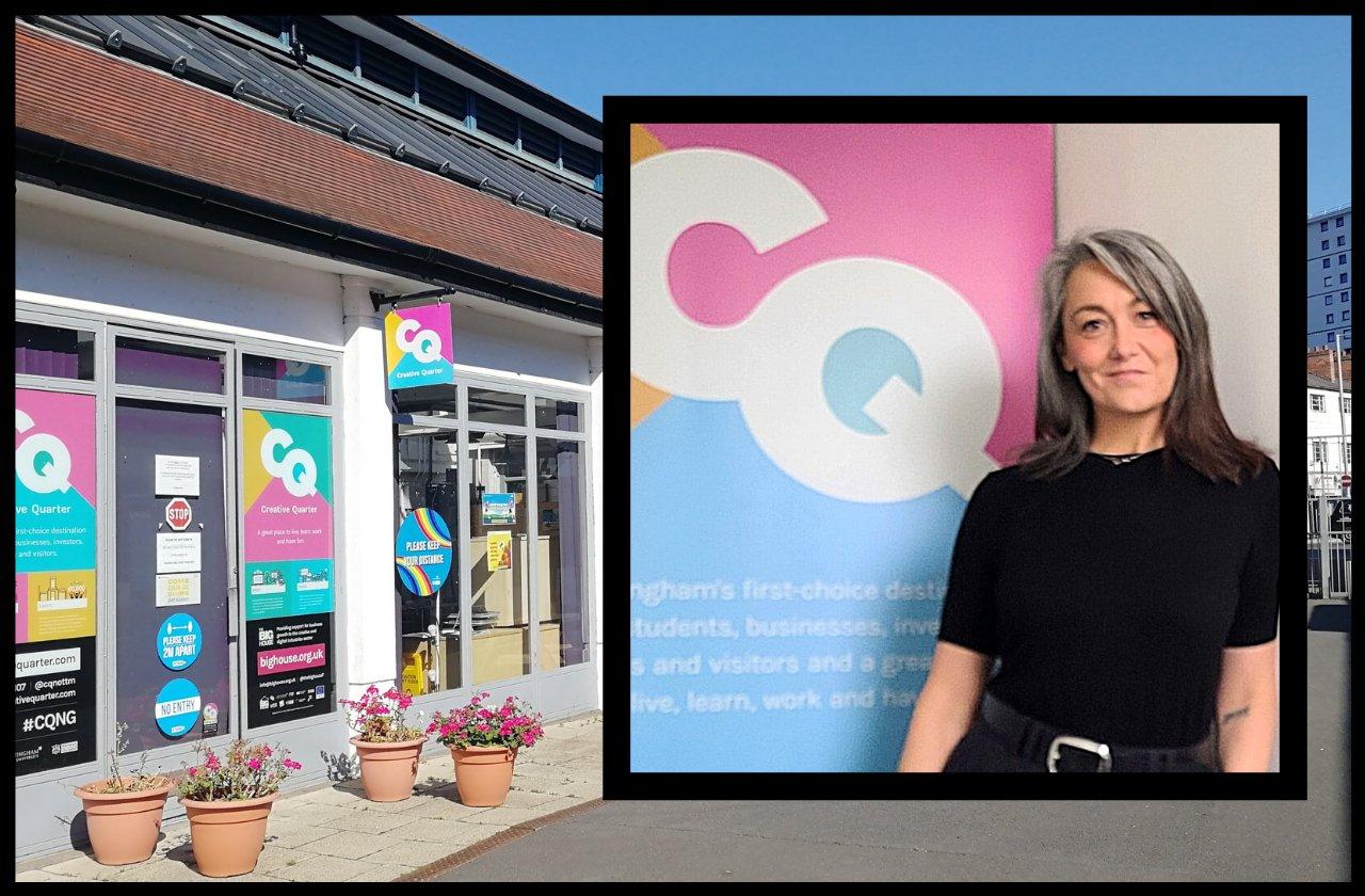 Creative Quarter Nottingham appoint Tamily Cookson as new interim CEO