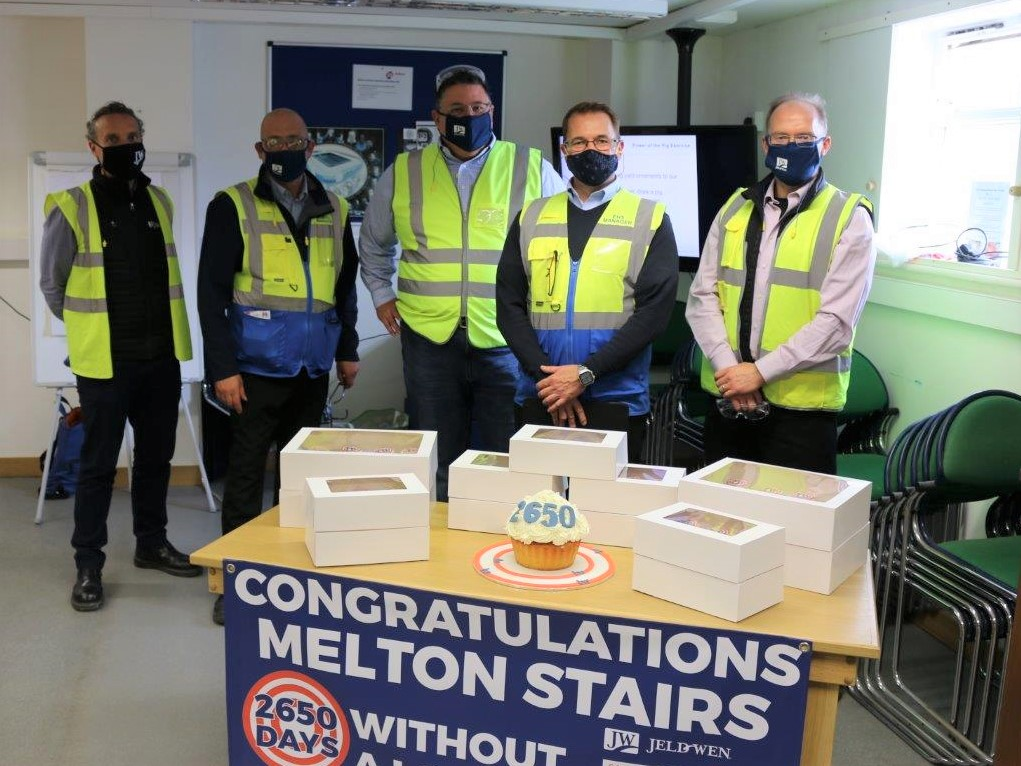 LOCAL MANUFACTURER CELEBRATES RECORD-BREAKING SAFETY SUCCESS