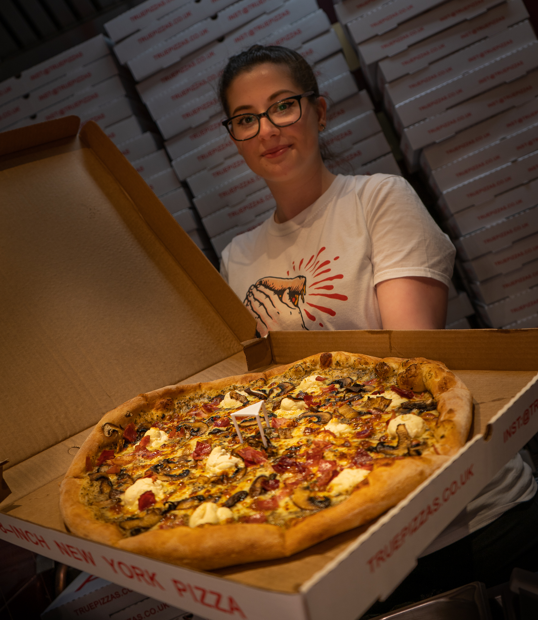 Here's how you can grab yourself a slice of FREE pizza from newly opened True Pizzas