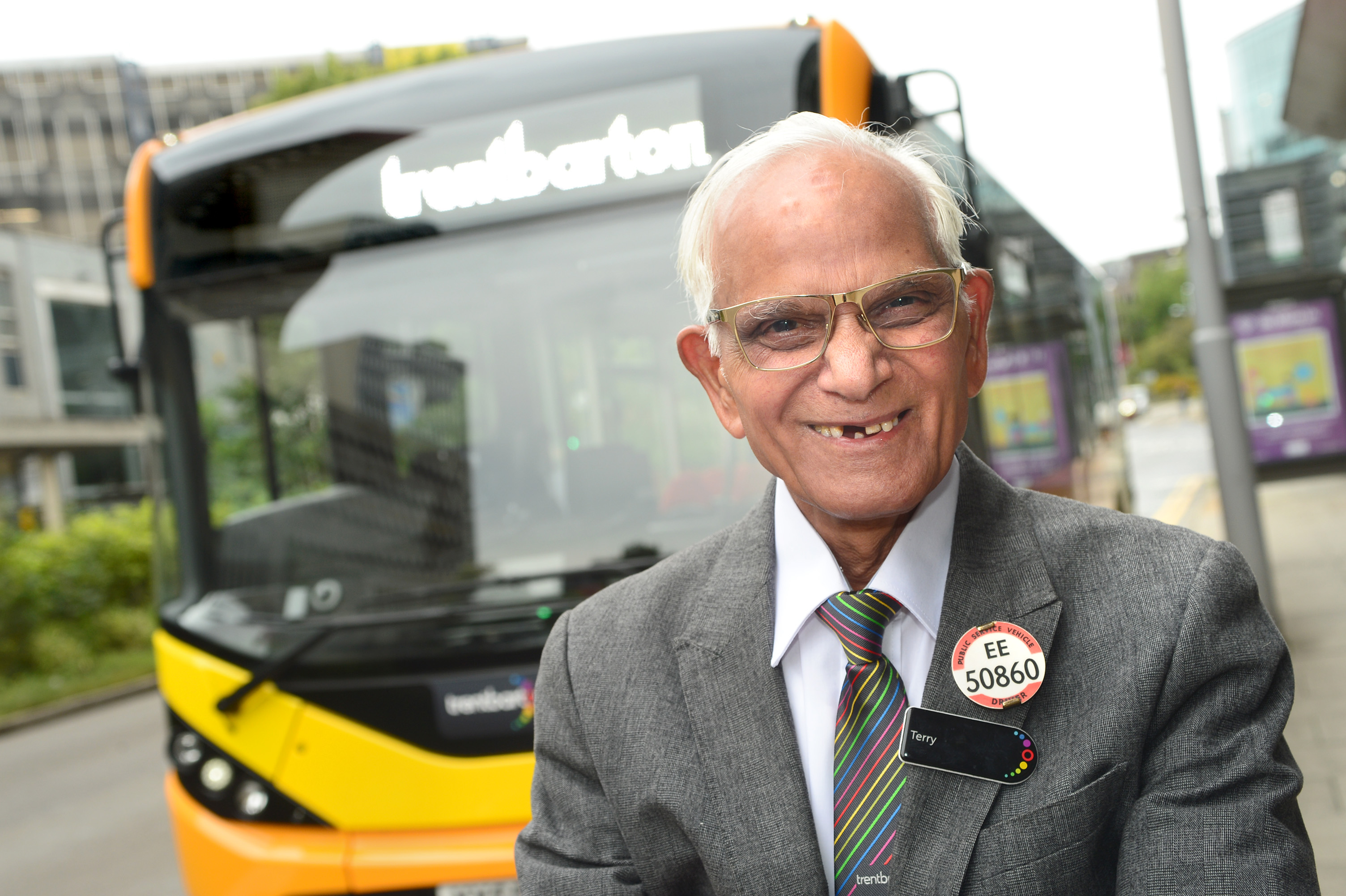 Terry takes his bow from the buses after 53 years