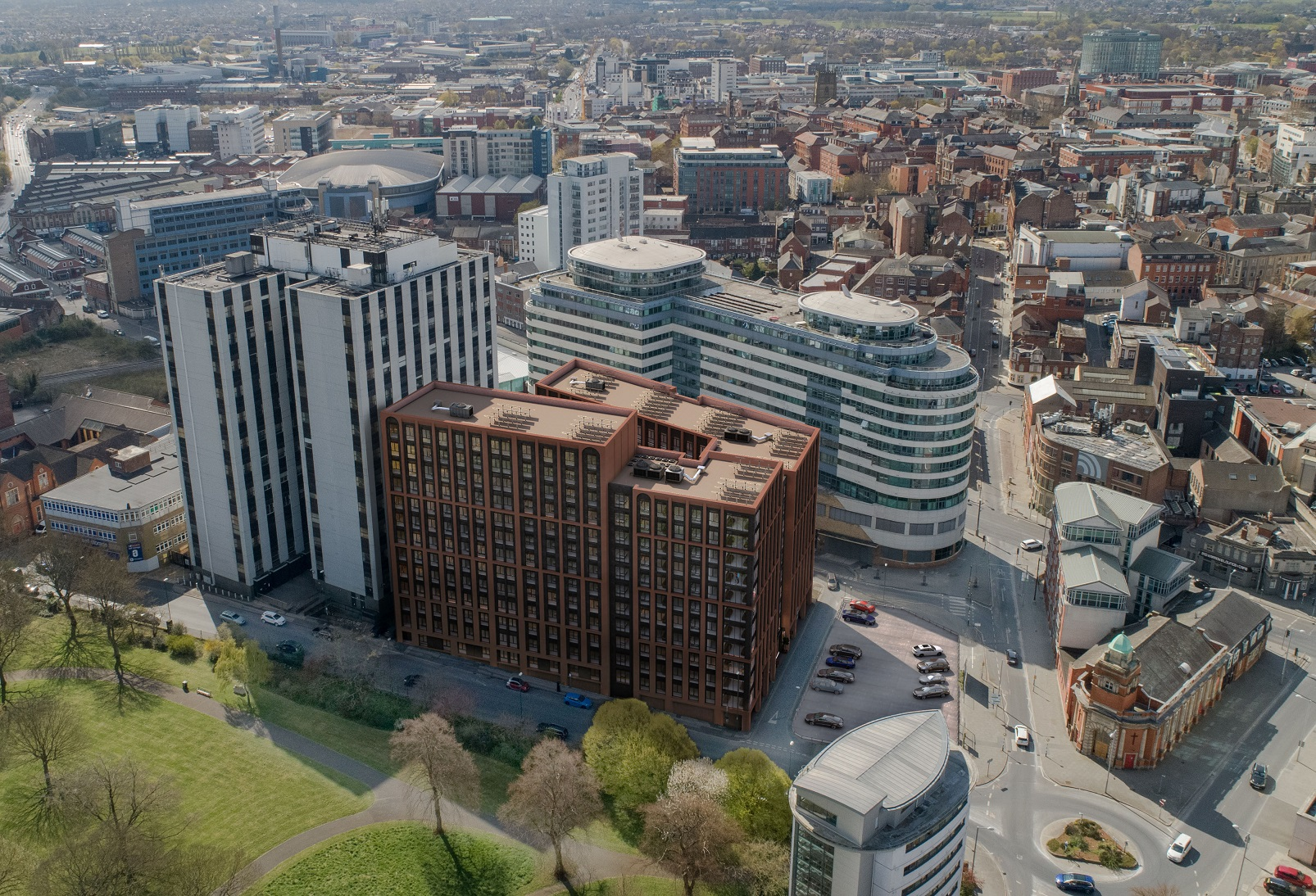 PLANS SUBMITTED FOR A 692-UNIT STUDENT LIVING SCHEME IN NOTTINGHAM