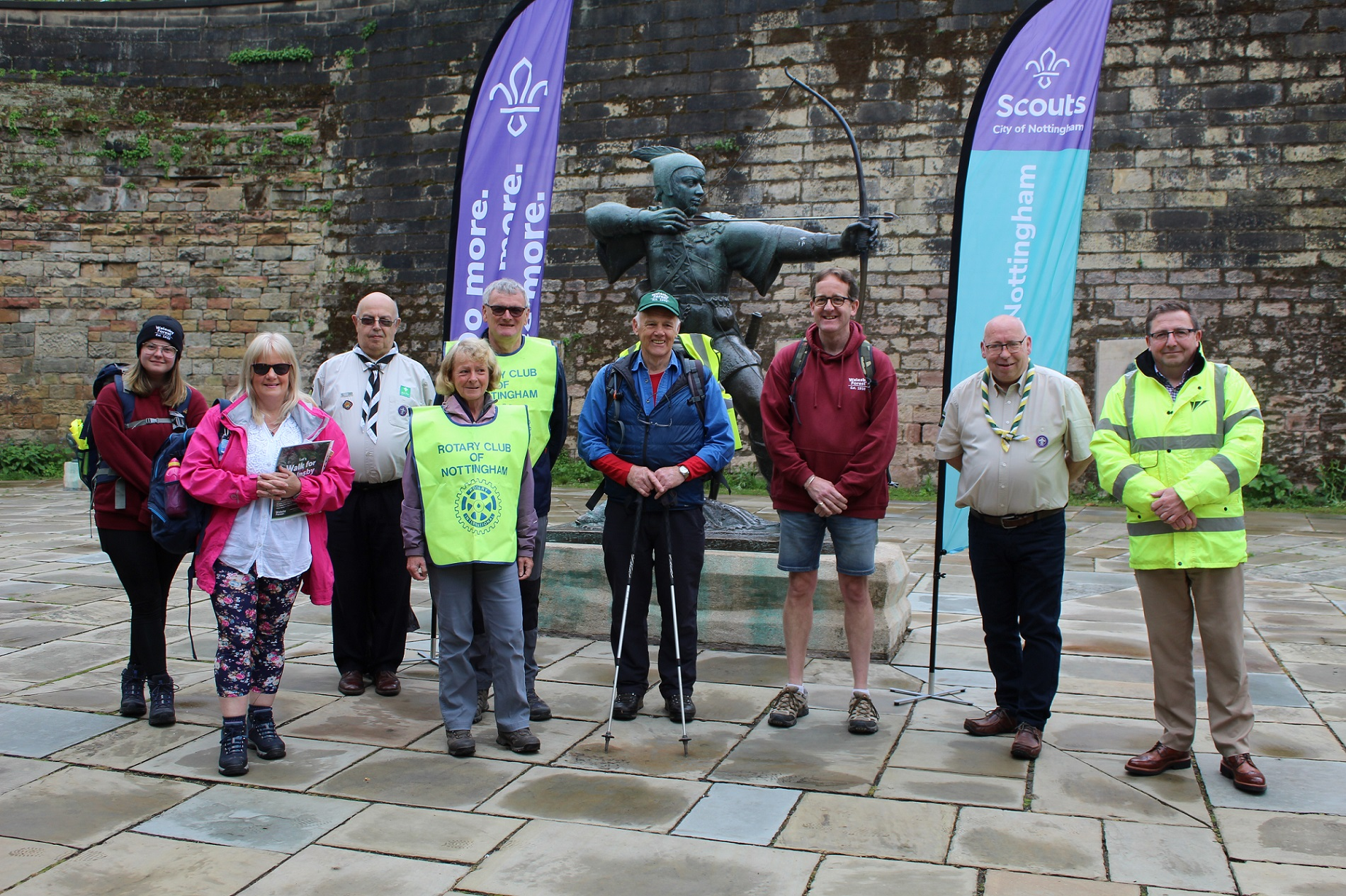 108-MILE 'WALK FOR WALESBY' RAISES AN INCREDIBLE £16,200