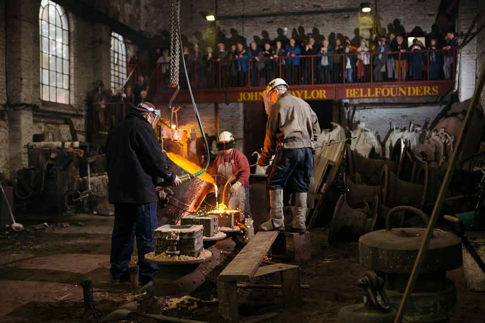 Taylor's Bellfoundry Lottery project takes a step forward