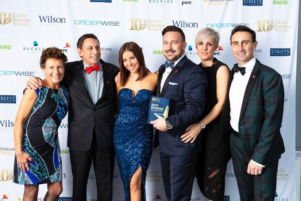 The Wilkins Group scoops prestigious Midlands Family Business of the Year Award