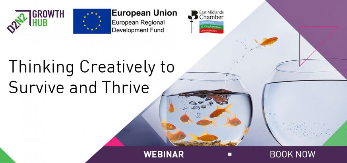FREE Online Webinar - Thinking Creatively to Survive and Thrive