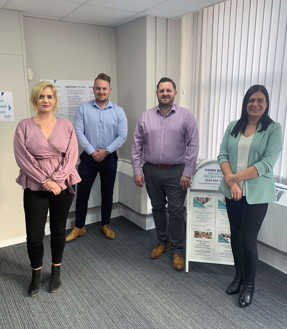 Thorn Baker Industrial Recruitment Expands Presence in Leicester