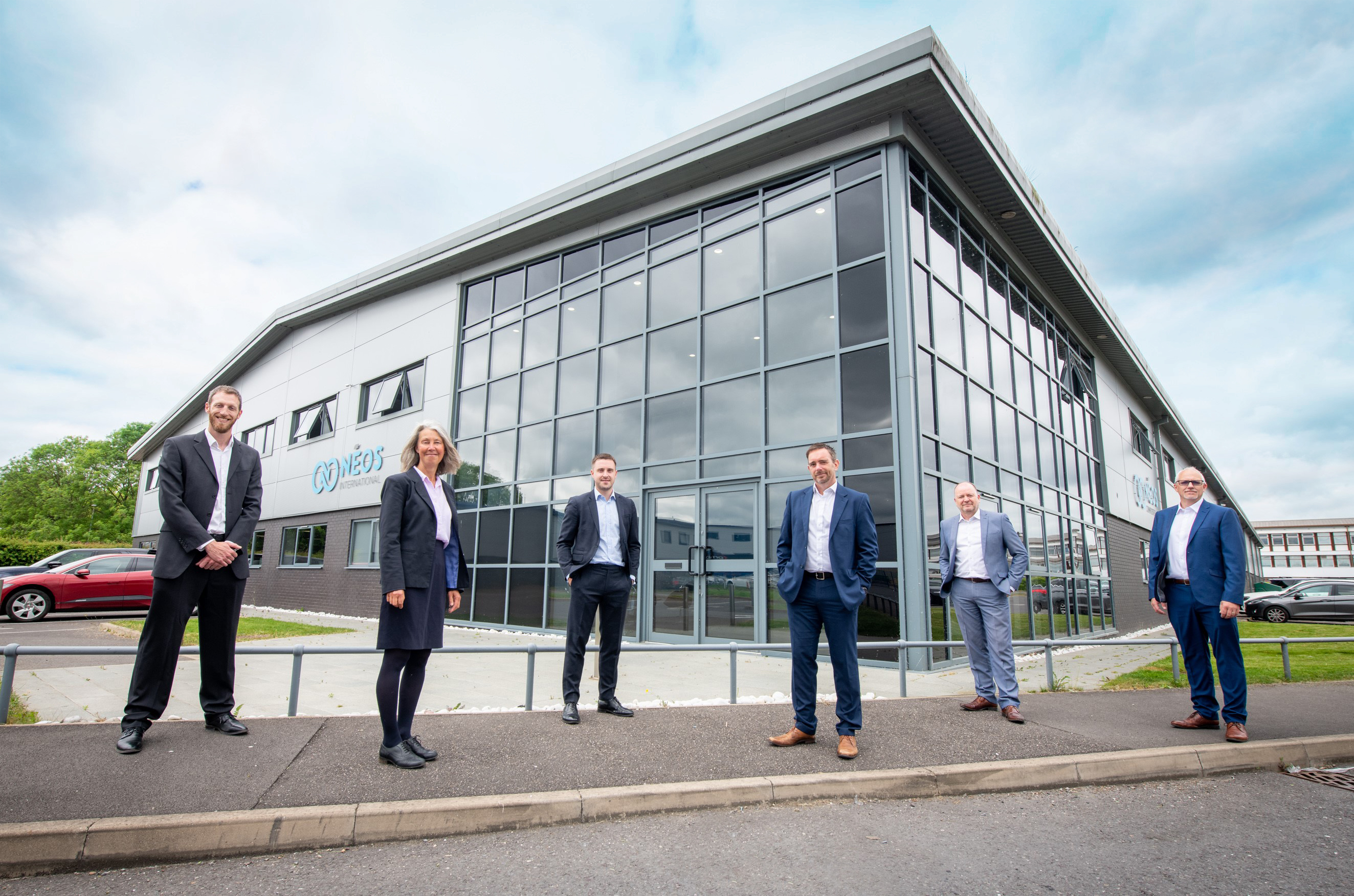 Nèos International to open group headquarters in Derby, creating up to 150 jobs