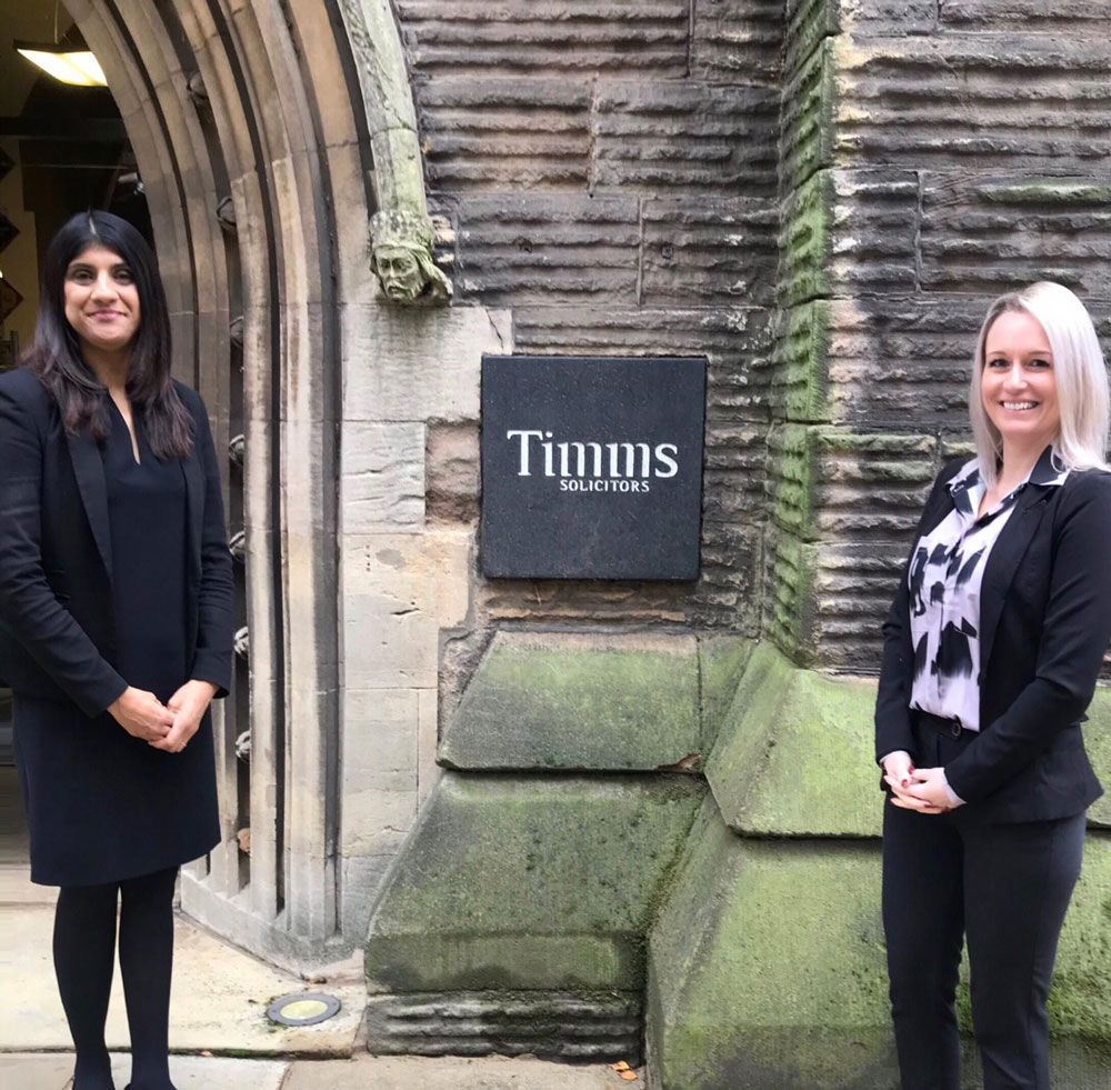 Promotions Secured Through Timms Solicitors' Pathway