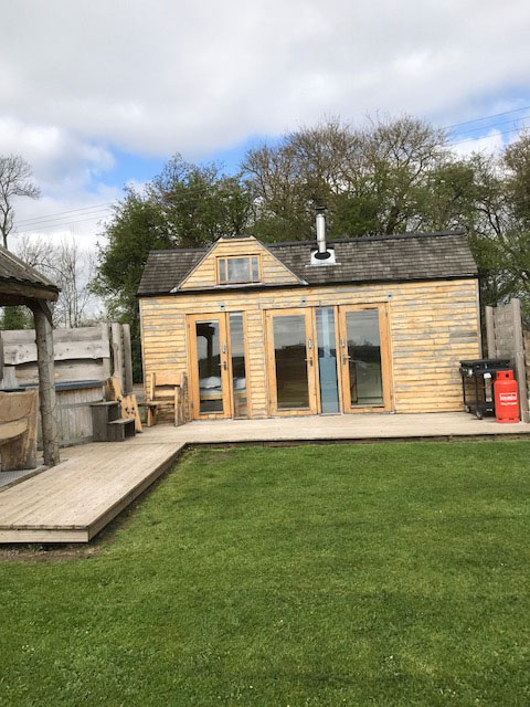 Property due secure retrospective planning for log cabin company
