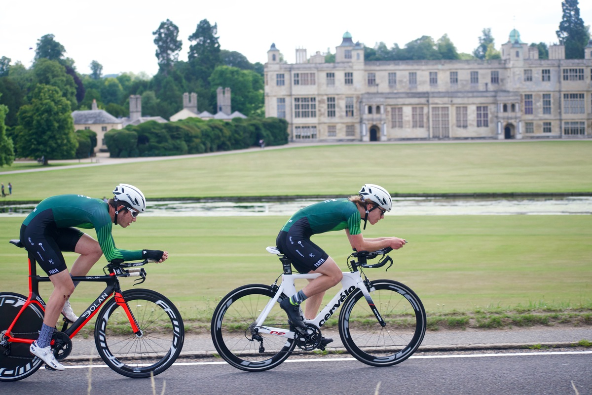 Loughborough Finance for Sport Partners with junior cycling team, Tofauti Everyone Active