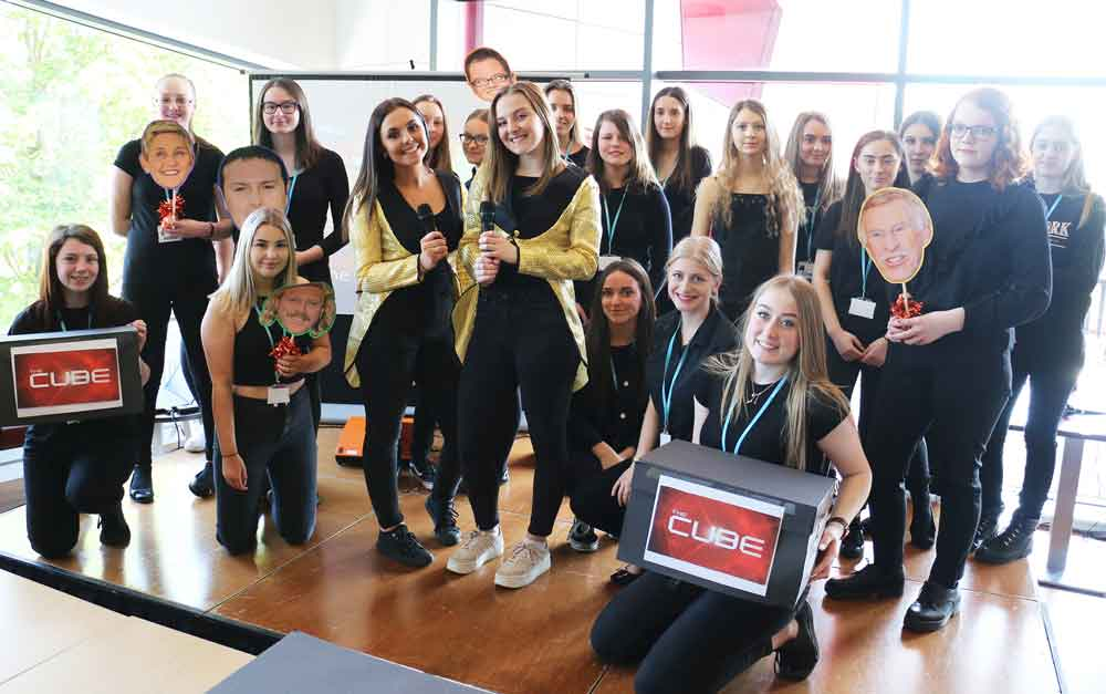 Students host TV-style gameshows for end-of-term