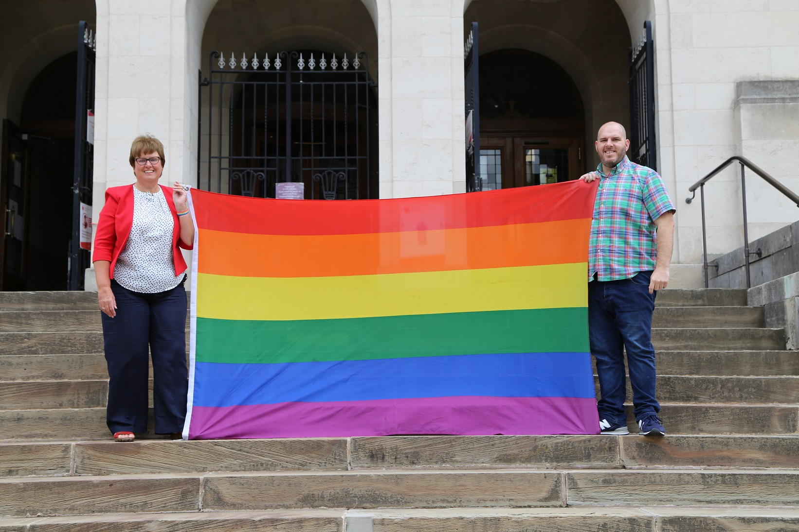 Chesterfield Borough Council and Chesterfield Pride join forces for this year's LGBQT+ community celebration