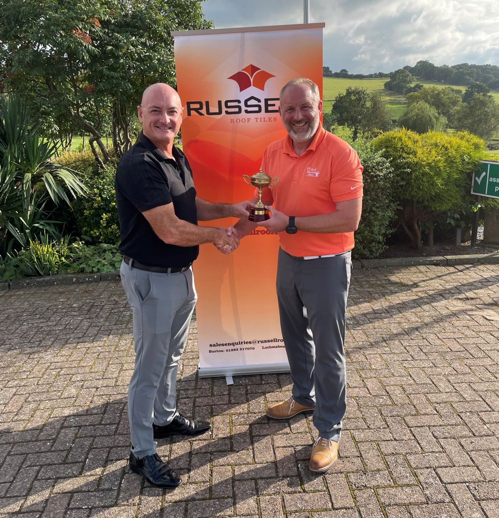 Russell Roof Tiles Raising Big at Charity Golf Tournament