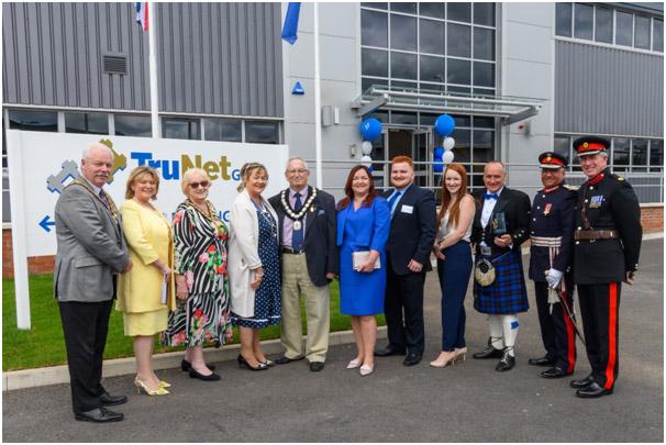 TruNet (UK) Ltd presented with prestigious Queen's Award for Innovation 2019.