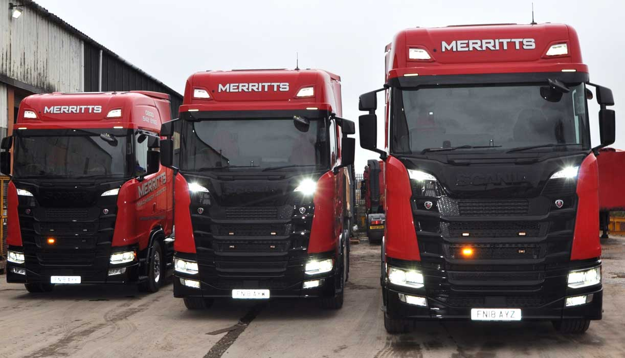 Merritts invest £1.4m in machinery lifting and transport equipment - Love  Business East Midlands