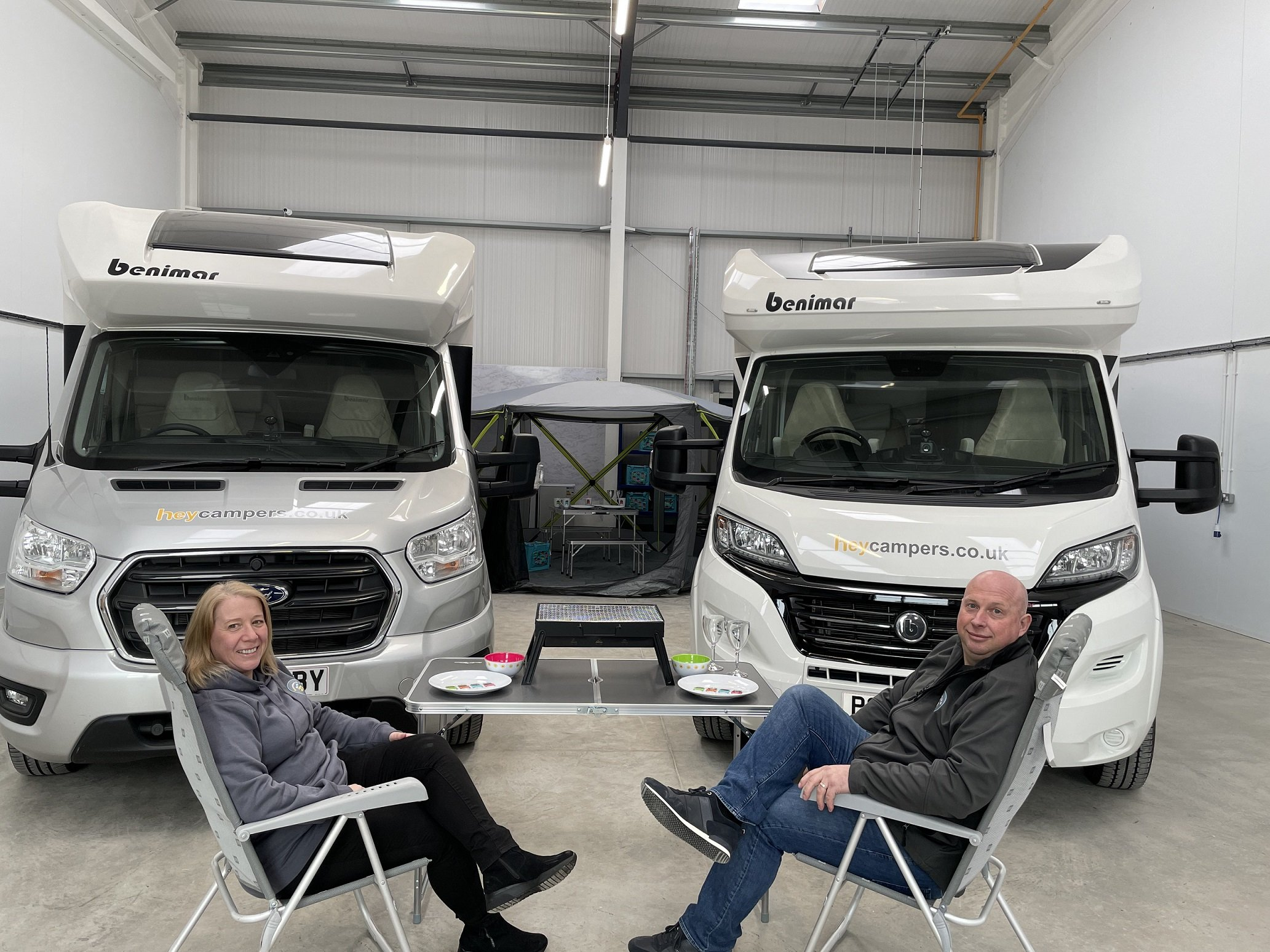 Keen campers launch motorhome hire company as staycation bookings surge