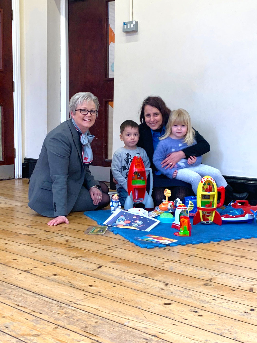 Peveril Homes goes top of the class after making generous donation to local pre-school!