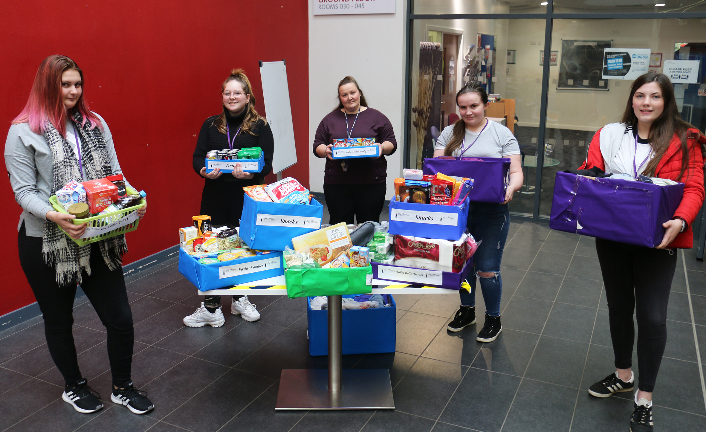 The gift of kindness for two Mansfield charities