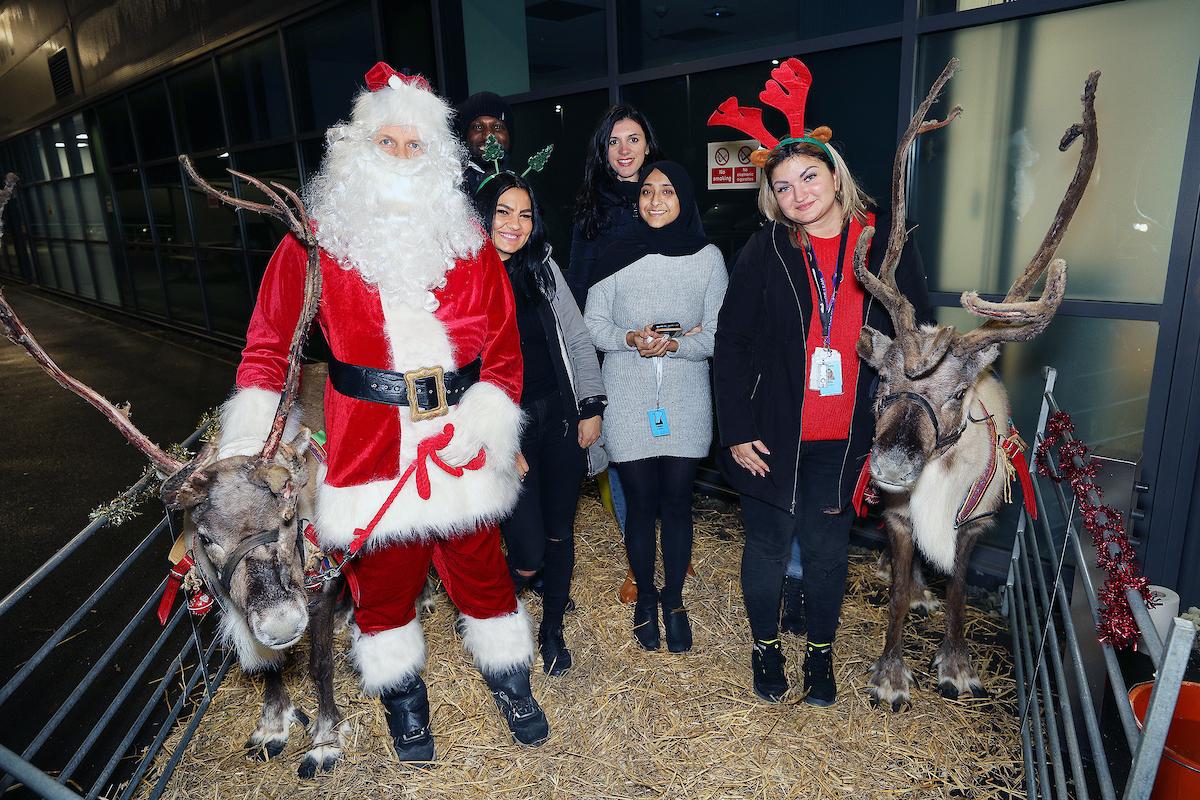Coalville team gets in the festive spirit